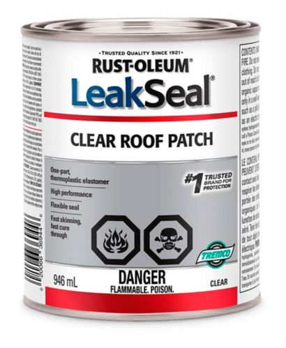 Rust-Oleum LeakSeal® Clear Roof Patch, 946-mL Product image