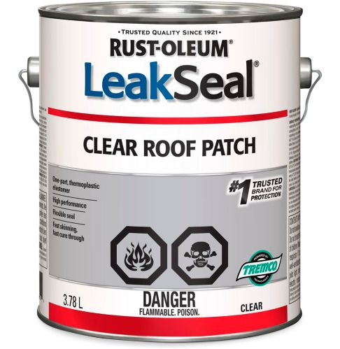 Rust-Oleum LeakSeal® Clear Roof Patch, 3.78-L Product image