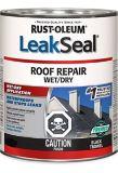 Rust-Oleum LeakSeal® Roof Repair Wet/Dry, Black, 946-mL | Rust-Oleumnull