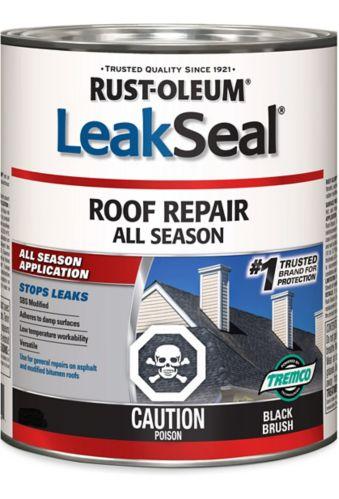 Répare-toit toute saison Rust-Oleum LeakSeal, 946mL