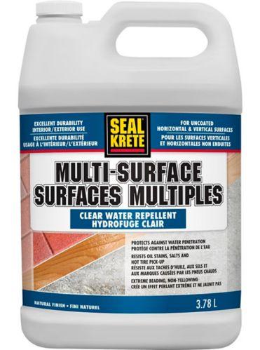 Scellant hydrofuge multisurface SealKrete, 3,78 L Image de l'article