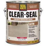 Scellant protecteur pour béton SealKrete Clear-Seal, satiné, 3,78L | Rust-Oleumnull