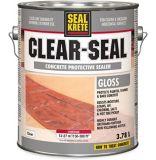Scellant protecteur pour béton SealKrete Clear-Seal, lustré, faible teneur en composés organiques volatils, 3,78L | Rust-Oleumnull