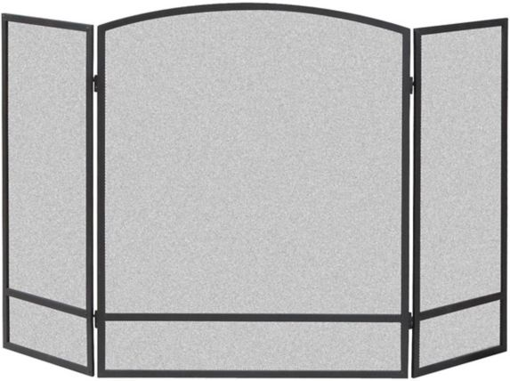 3-Panel Basic Arch Fireplace Screen Product image