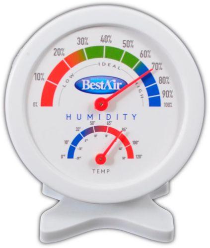 Moniteur d'humidité/hygromètre avec humidistat BestAir HG050