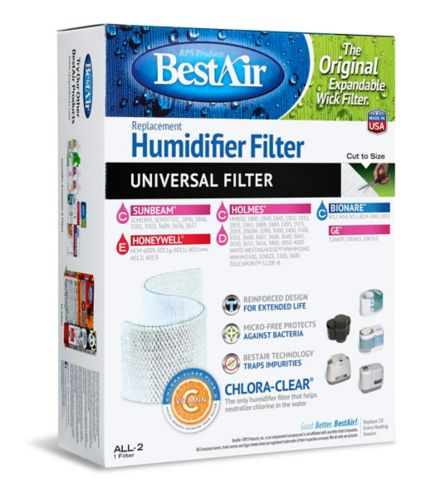 Universal Replacement Humidifier Wick Filter