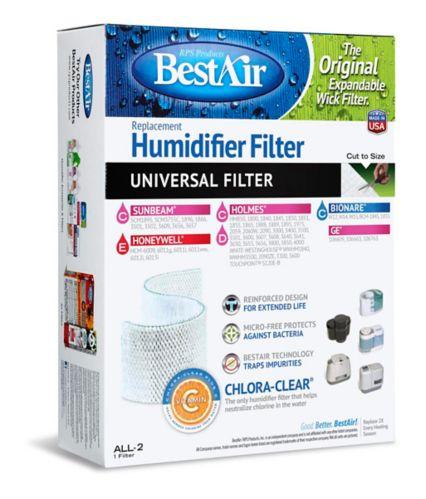 Filtre-mèche de rechange universel pour humidificateur Image de l'article
