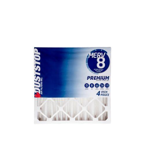 Filtre Duststop MERV 8 Premium, 20 x 20 x 4 po Image de l'article