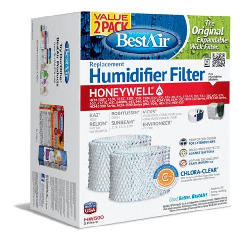 Filtre de rechange pour humidificateur Honeywell HW500, paq. 2 Image de l'article
