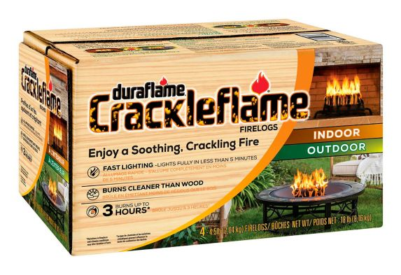 Duraflame Outdoor Crackleflame Fire Logs