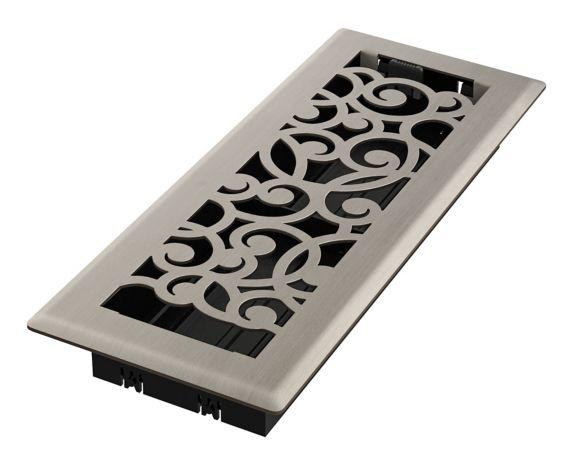 Grille de ventilation Imperial Wonderland, nickel brossé, 3 x 10 po Image de l'article