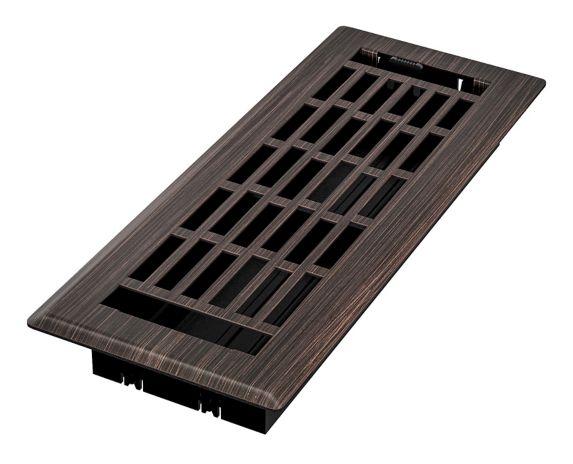 Grille de ventilation Imperial Geneva, bronze huilé, 3 x 10 po Image de l'article