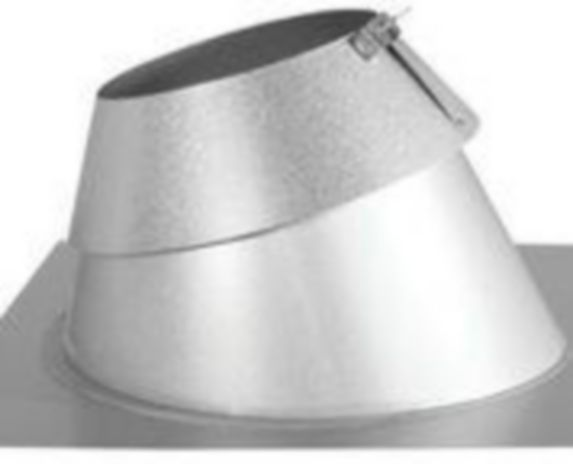 DuraVent Steep Roof Flash & Collar, 7-in