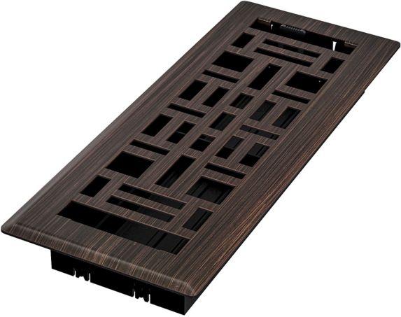 Grilles de ventilation Imperial Arts & Crafts, bronze huilé, 3 x 10 po Image de l'article