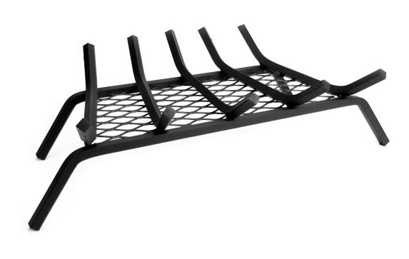 Pleasant Hearth Replacement Steel Grate with Ember Retainer, 24-in