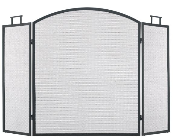 Fireplace 3-Panel Screen