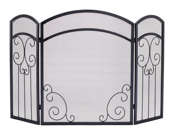 Ashburn 3-Panel Fireplace Screen