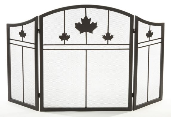 Pleasant Hearth Maple Leaf 3 Panel Screen Product image
