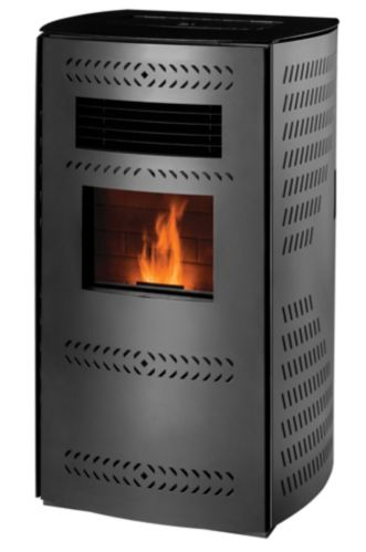 TimberRidge Pellet Stove 2000 sq.ft. Hopper, 80-lb Product image
