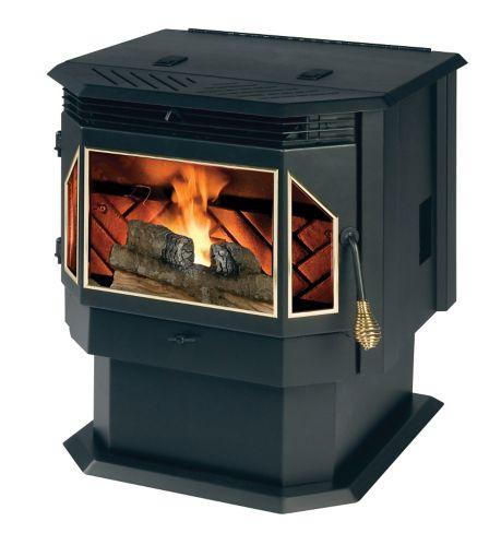 TimberRidge Pellet Stove 2200 sq. ft. Hopper, 45-lb Product image