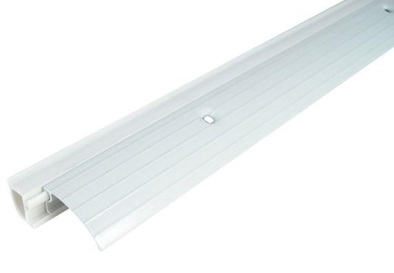 Climaloc Poly Aluminum Threshold, White Product image