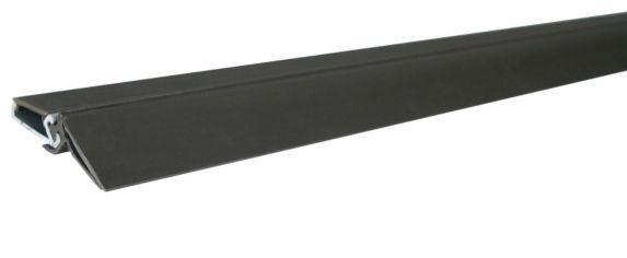 Bas de porte en aluminium et polymère, brun Image de l'article