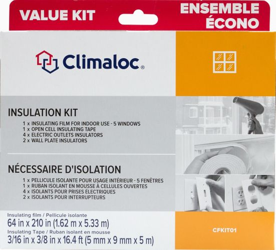 Climaloc Complete Winterization Kit, 12-pc Product image