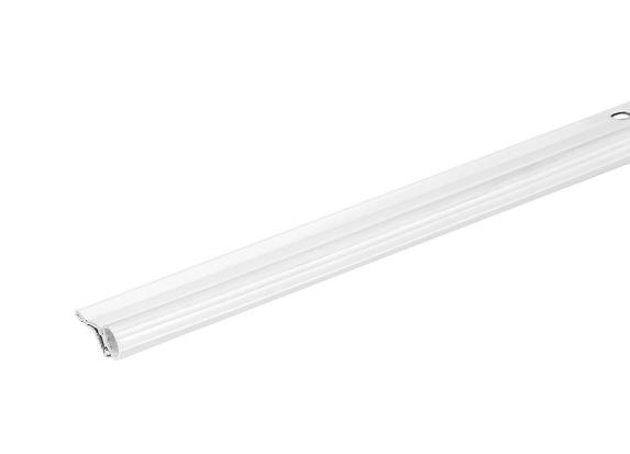 Coupe-froid de porte aluminium et vinyle Climaloc, blanc Image de l'article