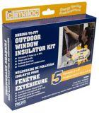 Calfeutrage pour fenêtre, extérieur | Climashieldnull