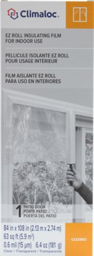 Climaloc Roll On Patio Door Film Product image