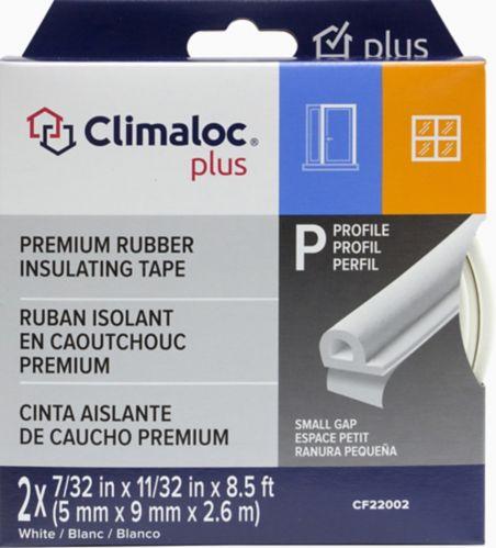 Ruban isolant EPDM, format P, blanc Image de l'article