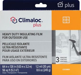 Climaloc Outdoor Insulation Window Kit
