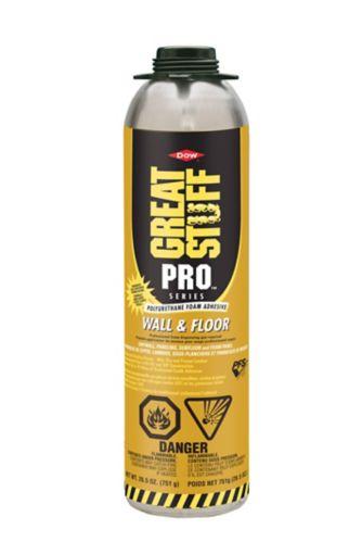 Mousse pression adhésive murs et planchers Great Stuff Pro