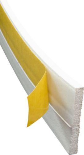 Climaloc Self-Adhesive Vinyl Door Sweep, 1-1/2 x 36-in Product image