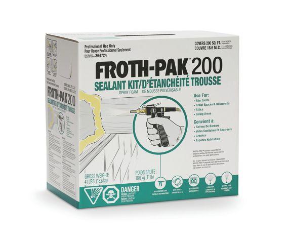 Mousse d'étanchéité FROTH-PAK 200 Image de l'article
