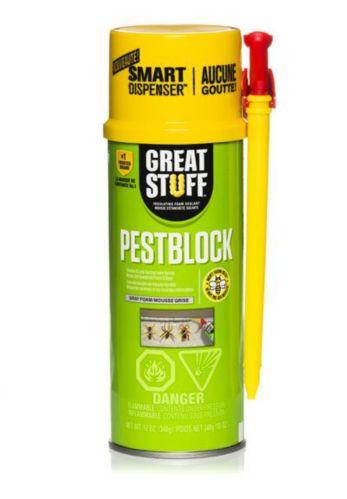 Mousse d'étanchéité isolante Pestblock Great Stuff Aucune Goutte, 340 g Image de l'article