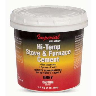 Imperial Hi-Temp Stove & Furnace Cement, 710 mL