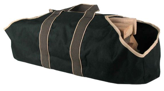 Canvas Firewood Storage Bag