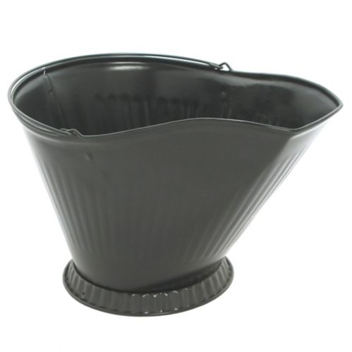 Seau à charbon, noir