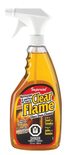 Imperial Clear Flame Glass Door Cleaner, 650 mL