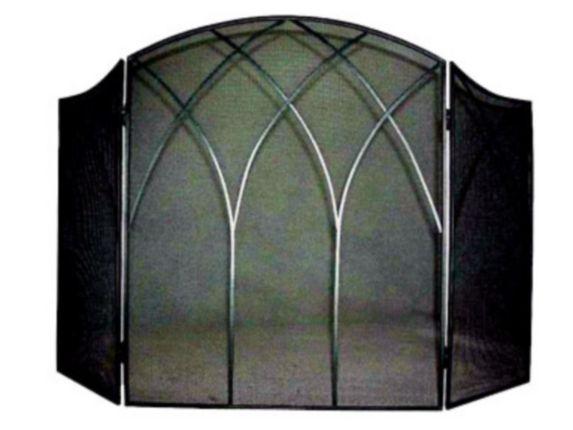 Pare-étincelles gothique, noir Image de l'article