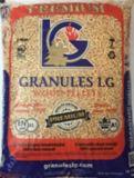 Granules de bois tendre, 40 lb