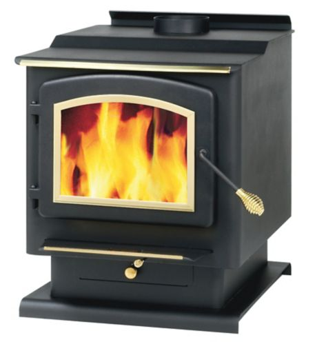 TimberRidge Wood Stove with Blower, 2400-sq. ft