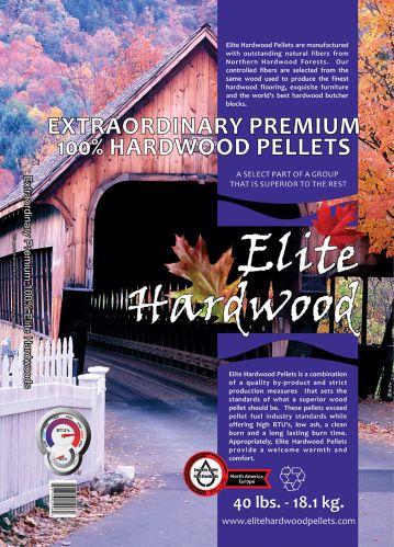 ElitePremium Hardwood Pellets, 40-lb Product image