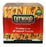 Bûche d'allumage Fatwood | Firemasternull