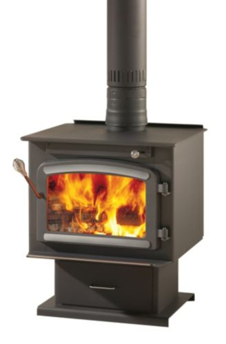 Drolet High Efficiency Classic EPA Wood Stove with Blower
