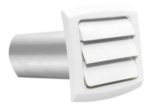 4-inch White Exhaust Hood Product image
