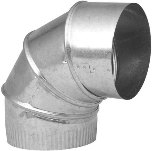 Imperial 30 Gauge Adjustable Pipe Elbow, Galvanized, 5-in x 90-Degree