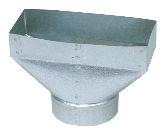 Imperial Universal Boot, Galvanized, 5 x 4 x 10-in