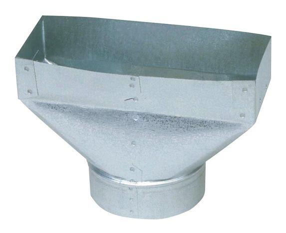 Sortie universelle Imperial, acier galvanisé, 5 x 4 x 10 po Image de l'article